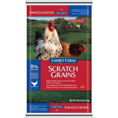 Generic Family Farm Scratch Mixed Grain Animal Feed, 40 lb
