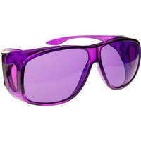 Biowaves Violet (Purple) Color Therapy Glasses, Large Fit Over Style Available in Other Colors