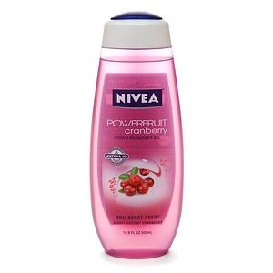 Nivea Powerfruit Cranberry Hydrating Shower Gel