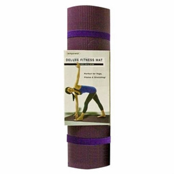 empower Deluxe Fitness Mat, Purple, 1 ea