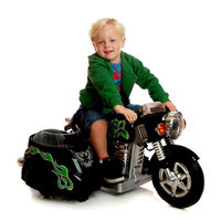 Toys 'r' Us New Star Super Motorcycle with Side Car Ride-On