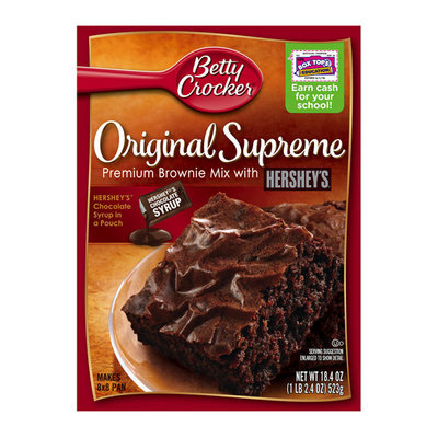 Betty Crocker Original Supreme Premium Brownie Mix with Hershey's