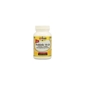 Vitacost Brand NSI Probiotic 10-10 with CoQ10 -- 100 mg per serving - 100 Capsules