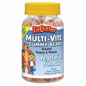 L'il Critters Multi-Vite Gummy Bears
