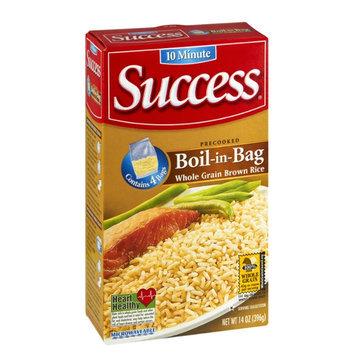 Success Boil-in-Bag Whole Grain Brown Rice - 4 CT