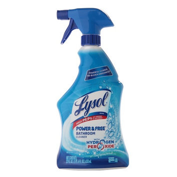 Lysol Power & Free Bathroom CleanerCool Spring Breeze