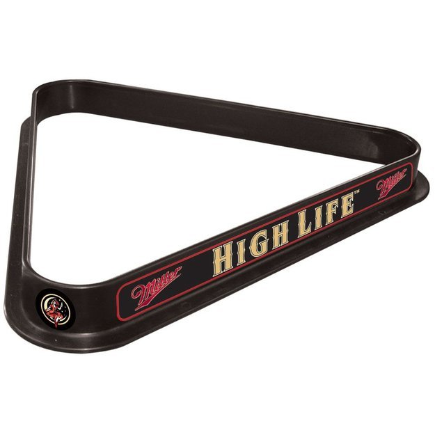 Trademark Commerce Trademark Miller High Life Girl in the Moon Billiard Triangle Rack
