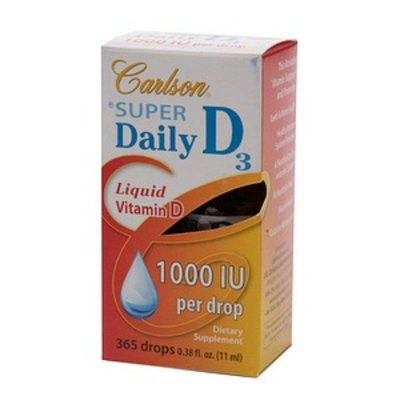 Carlson Super Daily Liquid Vitamin D3 1000 IU