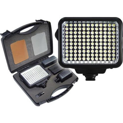 Vidpro 10-Piece Pro Photo/Video LED Light Kit with Battery, Charger, Diffusers & Case