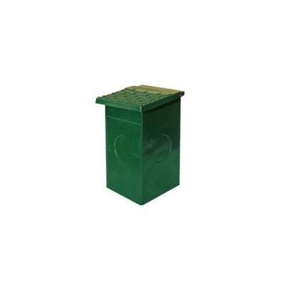 Doggie Deposit DD0010-0009 Replacement 15 Gal Poly Wastebasket for Dog Poop Waste Stations