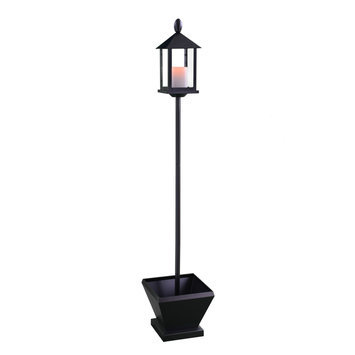 Candletek Lamp Post with Flameless Candle