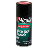 Micatin Antifungal Spray Powder, 3-Ounce Spray Cans (Pack of 4)