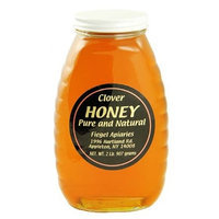 2 Pounds of WNY's Fiegel Apiaries Pure and Natural Clover Honey