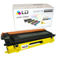 LD Remanufactured Brother TN115Y High Yield Yellow Laser cartridge for the Brother: HL-4040CDN, MFC-9450CDN, HL-4070CDW, DCP-9045CDN, MFC-9840CDW, MFC-9440CN, HL-4040CN, DCP-9040CN Printers