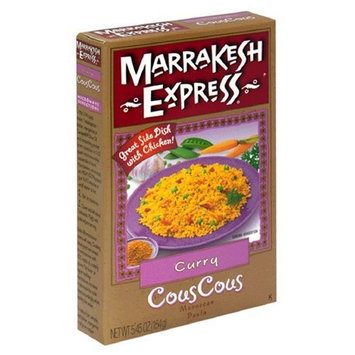 Marrakesh Express Cous Cous, Curry, 5.45-Ounce Units (Pack of 12)