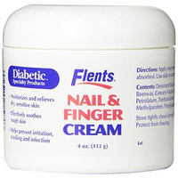Flents By Apothecary Products Inc. Flents Diabetic Specialty Products Nail & Finger Cream 4-Ounce