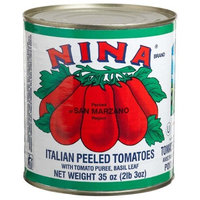 NINA Italian Whole Peeled Tomato, 35-Ounce (Pack of 6)