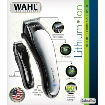 WAHL Home Products Lithium Ion Cordless Clippers