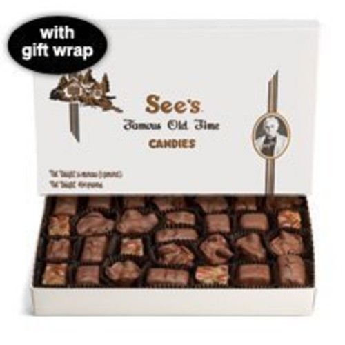 Sees Candies See's Candies 1 lb. Milk Chocolate Nuts & Chews