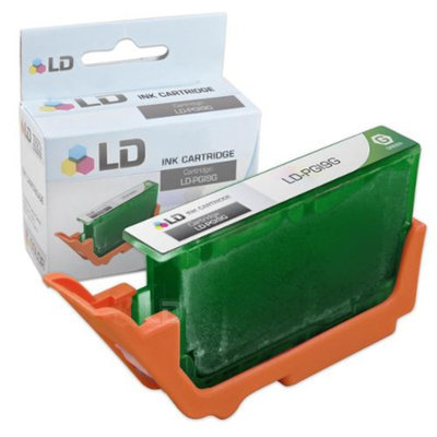 LD Canon PGI9G Green Compatible Inkjet Cartridge W/ Chip for Pixma Pro9500