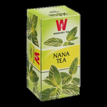 Wissotzky Tea Bags Nana Tea - 25 CT