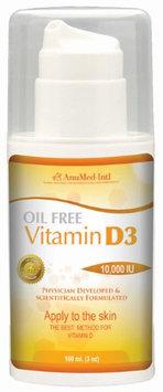 AnuMed - Vitamin D3 Cream Oil Free - 3 oz.