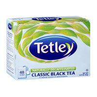 Tetley Naturally Decaffeinated Classic Black Tea Bags - 40 CT