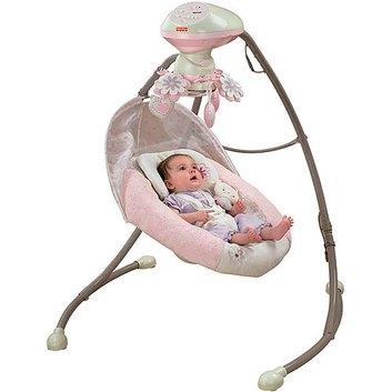 Fisher-Price - My Little Sweetie Deluxe Cradle Swing