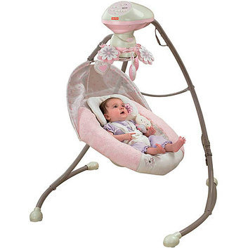 Fisher-Price - My Little Sweetie Deluxe Cradle Swing