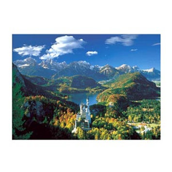 Educa Neuschwanstein Castle 5,000 Piece Jigsaw Puzzle, Ages 12+, 1 ea