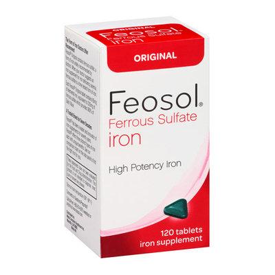 Feosol Original Ferrous Sulfate Iron Supplement Tablets