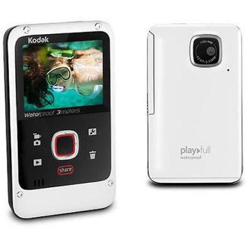 Kodak - Playfull 32MB HD Flash Memory Camcorder - White