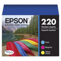 Epson 220 Tri-Color Cartridge Pack - Multicolor (T220520)
