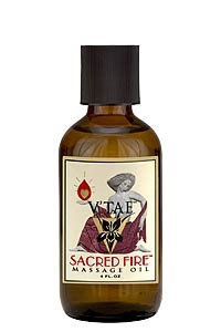 V'tae Parfum & Body Care Sacred Fire Massage Oil V'TAE Parfum and Body Care 4 oz Liquid