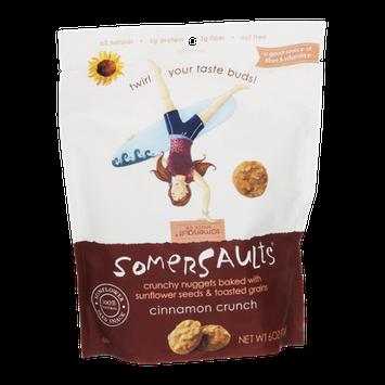 Somersaults Sunflower Seed Snack Cinnamon Crunch