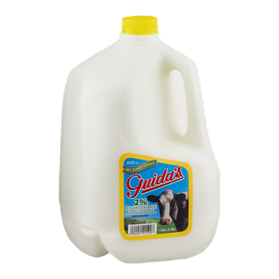 Guida's 2% Reduced Fat Milk