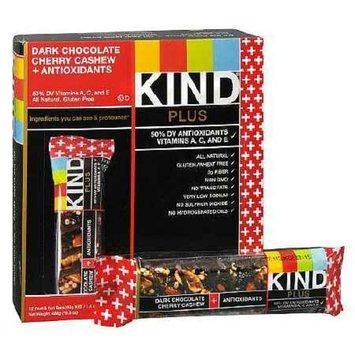 KIND Plus Nutrition Plus Nutrition Bars Dark Chocolate Cherry Cashew + Antioxidants