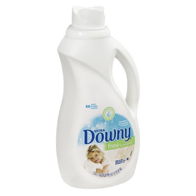 Ultra Downy Free & Sensitive Unscented Fabric Softener - 60 Loads
