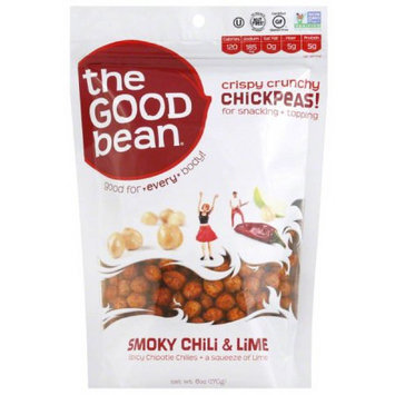 The Good Bean Smoky Chili & Lime Chickpeas, 6 oz, (Pack of 6)