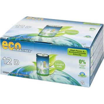 Eco Alkaline Eco Responsible Batteries D