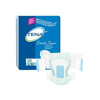 TENA Stretch Super Briefs, L/XL - 1/Case of 56