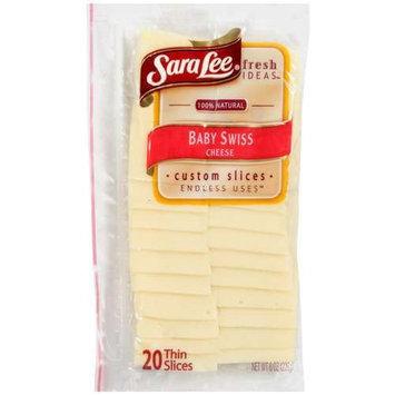 Sara Lee Baby Swiss Cheese, 8 oz