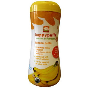 Happy Baby Organic Banana Puffs (6 Pack)