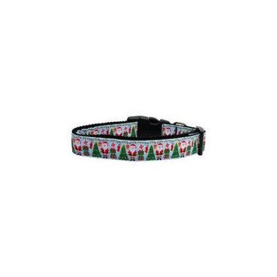 Ahi Aqua Santa Nylon Ribbon Collars Medium