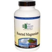 Ortho Molecular Products - Reacted Magnesium - 180 Capsules