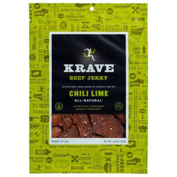 Krave Pure Foods Krave Chili Lime Beef Jerky, 5.4 oz