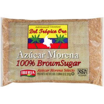 Iberia Foods Corp. Del Tropico Oro 100% Brown Sugar, 32 oz