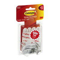Command Brand Damage-Free Hanging Hooks - 9 CT
