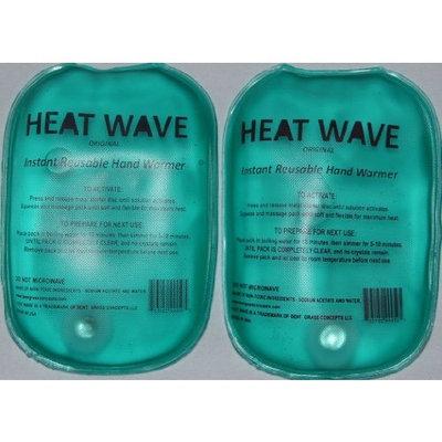 Bent Grass Concepts HEAT WAVE Instant Reusable Hand Warmers - 1 pair