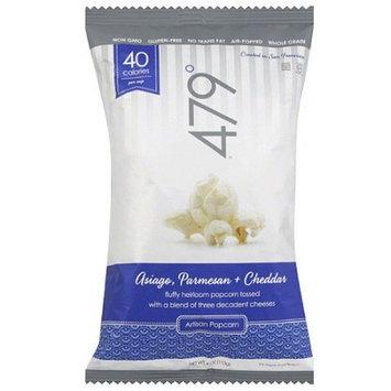479 Degrees Asiago, Parmesan & Cheddar Artisan Popcorn, 4 oz, (Pack of 10)